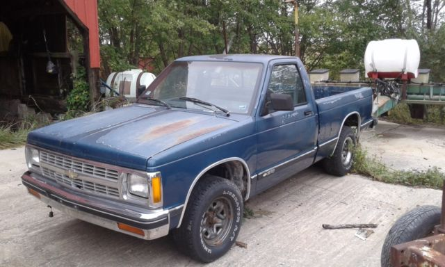 1991 chevy s10 pickup truck 4 3 manual for sale photos technical rh topclassiccarsforsale com chevy s10 manual transmission identification chevy s10 manual