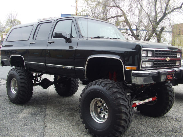 1991 Chevrolet Suburban 1 TON 502 TH 400 D-60