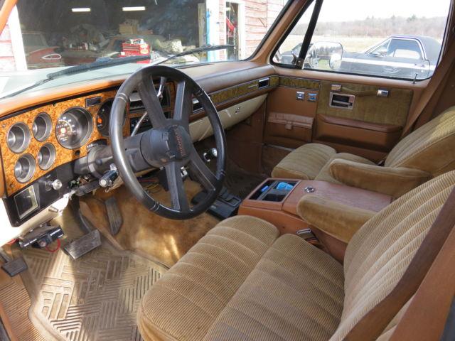 1991 chevy suburban k2500 with 6.2L DIESEL w/original ...