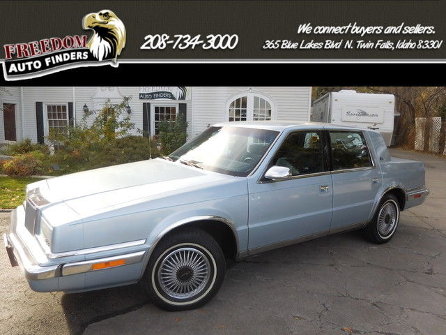 1991 Chrysler New Yorker Salon Lee Iacocca Original Car 1