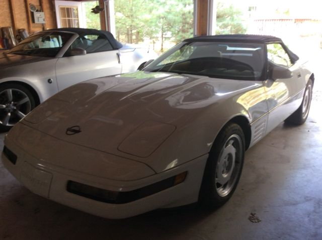 1991 Chevrolet Corvette Leather