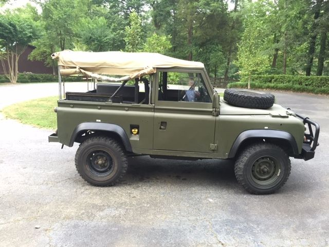 1991 Defender 90 Soft Top Lhd For Sale Photos Technical