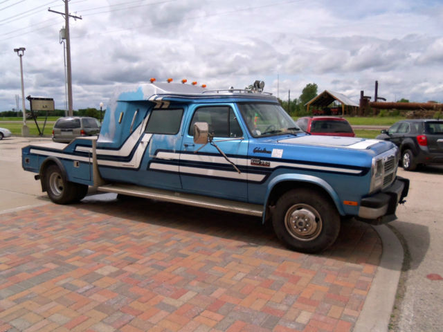 1991 DODGE 1ST GEN W350 3 DOOR 4X4 DUALLY CABRIOLET CONVERSION (CUMMINS) for sale: photos ...