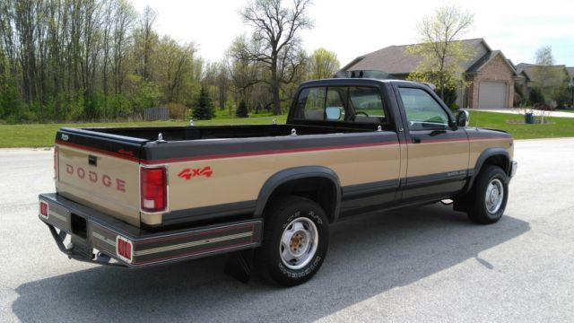 1991 dodge dakota 4x4 5 2 magnum v 8 only 89k rust free clean no res for sale photos technical specifications description topclassiccarsforsale com