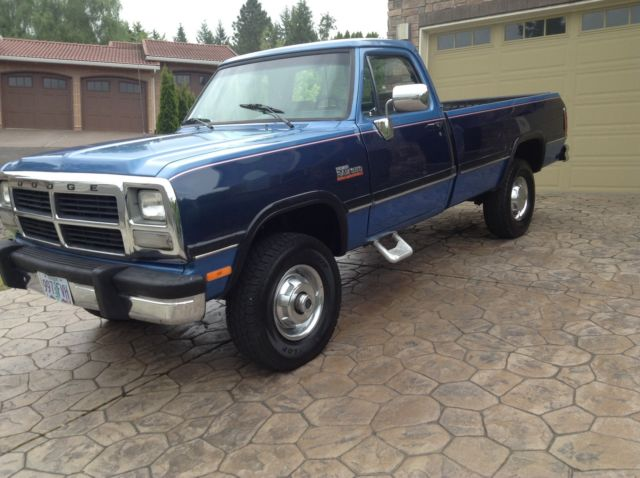 1991 dodge power ram 3500 turbo cummings diesel 5sp with 4x4 for sale photos technical. Black Bedroom Furniture Sets. Home Design Ideas