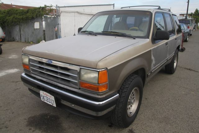 1991 ford explorer xlt automatic 6 cylinder no reserve for sale photos technical. Black Bedroom Furniture Sets. Home Design Ideas