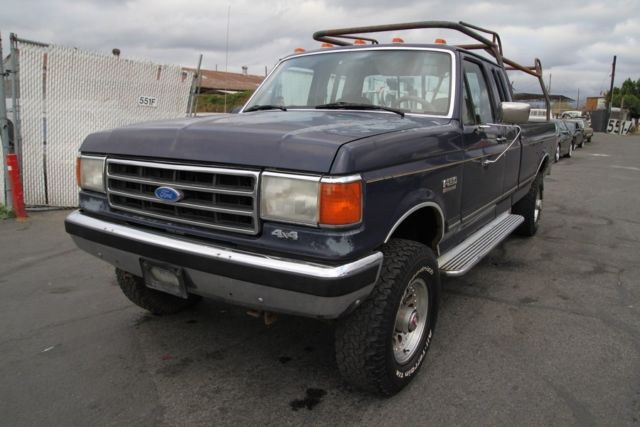 1991 Ford F-250 XLT HD SuperCab 4WD