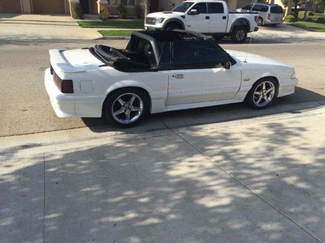 1991 Ford Mustang Gt Convertible 5 0 Cobra For Sale