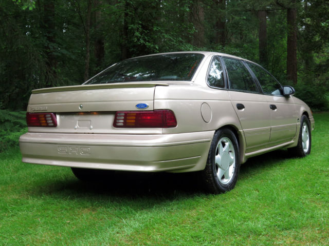 1991 ford taurus sho 39 plus 39 edition collector 39 s condition sho plus for sale photos technical. Black Bedroom Furniture Sets. Home Design Ideas