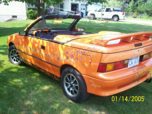1991 geo metro lsi convertible 2 door 1 0l show car real paint not decals for sale photos. Black Bedroom Furniture Sets. Home Design Ideas