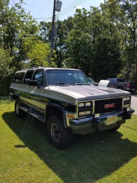 3rd Row Suv For Sale >> 1991 GMC Suburban V1500 4X4 350ci 5.7L for sale: photos ...