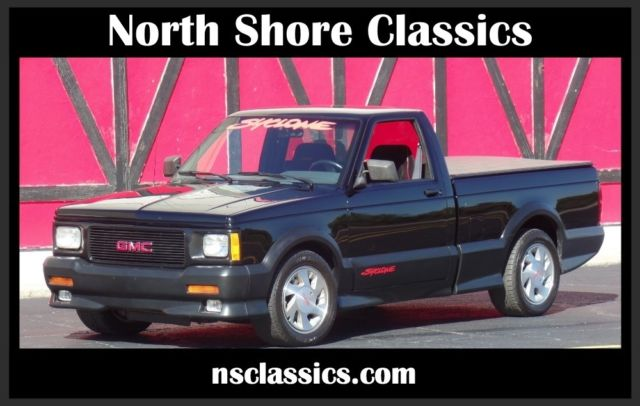 1991 GMC Syclone -RARE-TURBO 6 CYLINDER- BLACK ON BLACK-Clean carfa