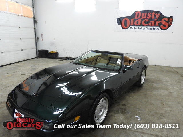 1991 Chevrolet Corvette Runs Drives Body Inter VGood 350V8 4spd auto