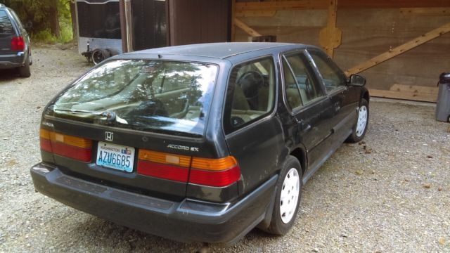 1991 Honda Accord Hatchback Wagon For Sale Photos Technical