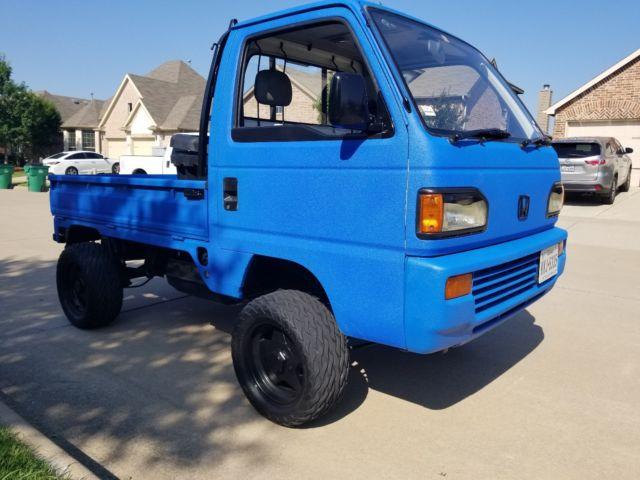 Honda Blue Coolant Engine