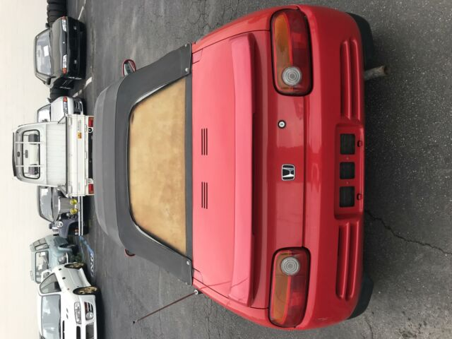 1991 -- Honda Beat Coupe Convertible with -- interior