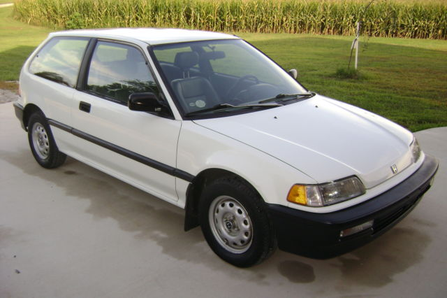 1991 honda civic base hatchback 3 door 1 5l for sale. Black Bedroom Furniture Sets. Home Design Ideas