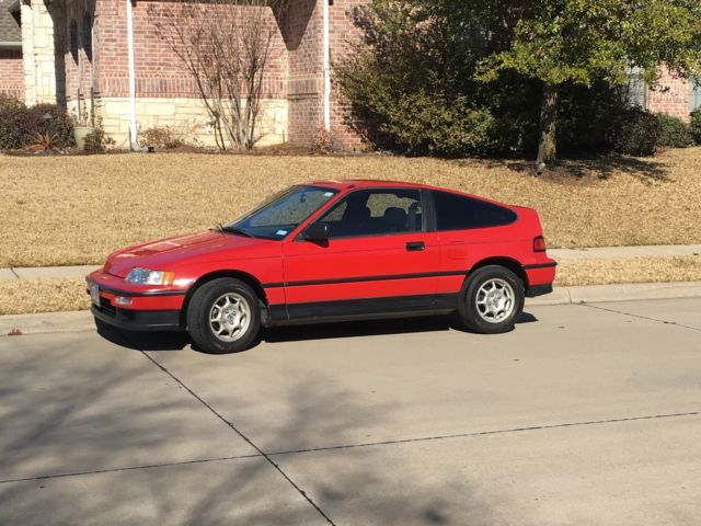 1991 Honda Civic CRX HF