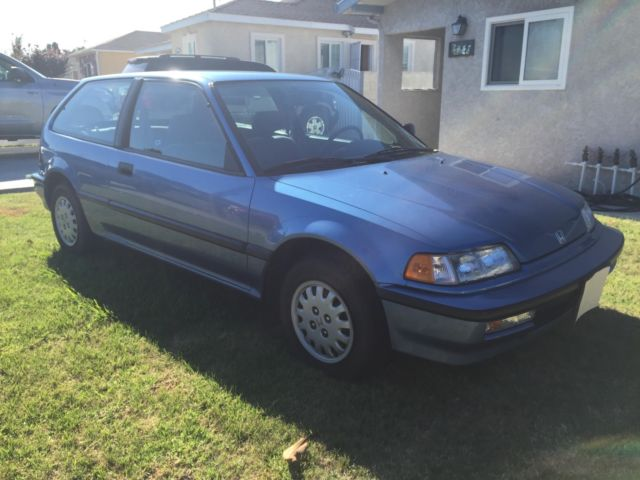 1991 Honda Civic Hatchback DX 2Door EF G80 DX