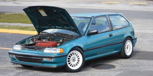 1991 honda civic hatchback dx transmission