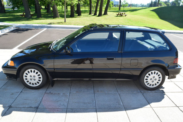 1991 honda civic si very rare low mileage original. Black Bedroom Furniture Sets. Home Design Ideas