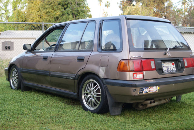 1991 honda civic wagon rt4wd for sale photos technical specifications description. Black Bedroom Furniture Sets. Home Design Ideas