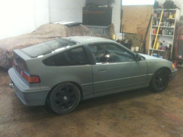 1991 Honda Crx Base Coupe 2 Door 1 8 For Sale Photos Technical