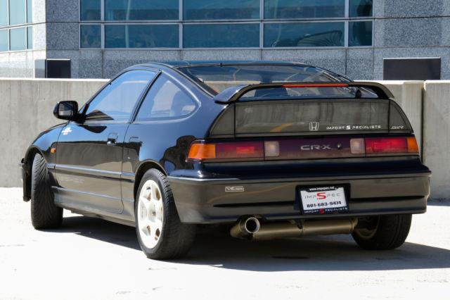 1991 Honda Crx Black Oem Si Glass Roof For Sale Photos