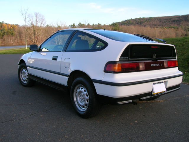 1991 honda crx dx for sale photos technical specifications description. Black Bedroom Furniture Sets. Home Design Ideas