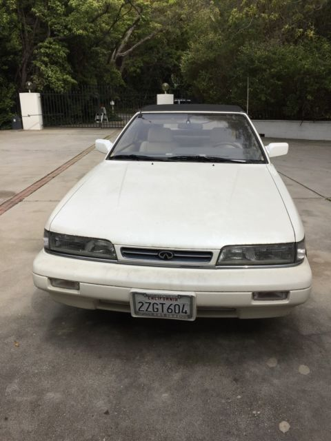 1991 Infiniti M30 Base Convertible 2-Door