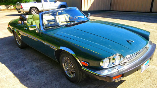 1991 Jaguar XJS 2 door convertible