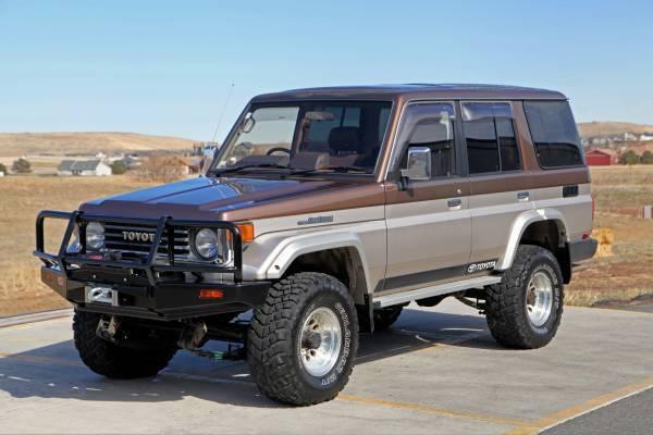 1991 JDM Toyota Land Cruiser HZJ77 Turbo Diesel, Factory