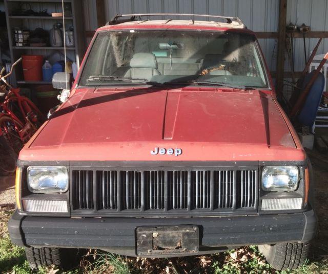 1991 Jeep Cherokee Sport 4 Door 4x4 L6
