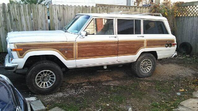 1991 jeep grand wagoner diesel hybrid for sale photos. Black Bedroom Furniture Sets. Home Design Ideas
