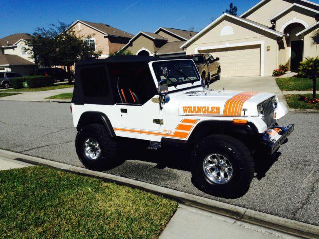 1991 Jeep Wrangler 4x4 YJ Customized