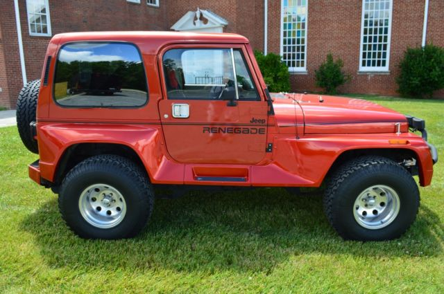 1991 Jeep Wrangler Renegade With Hard Top Fully Restored