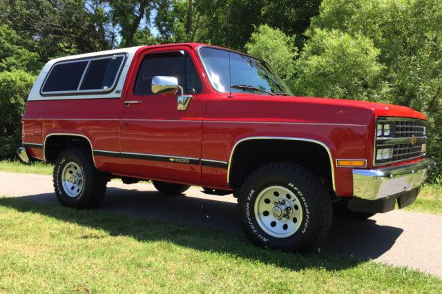 1991 k5 blazer 4x4 silverado chevy v8 classic loaded Chevy K5 Blazer