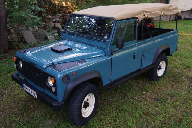 1991 Land Rover Defender 110 Ex MOD Soft Top