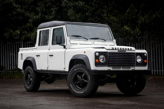 1991 land rover defender 110 double cab crew cab pick up lhd
