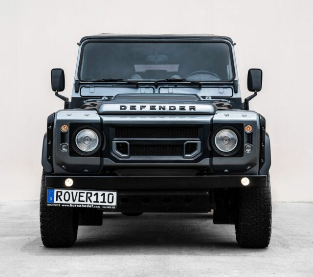 Land Rover Defender 110 For Sale: 1991 Land Rover Defender 110 Kahn Wide Body Kit For Sale