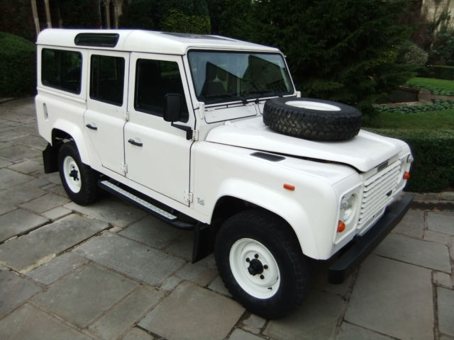 1991 land rover defender 110 lhd 200tdi county station wagon for sale photos technical. Black Bedroom Furniture Sets. Home Design Ideas