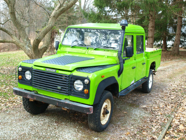 1991 Land Rover Defender 130 Double Cab project - 200Tdi for
