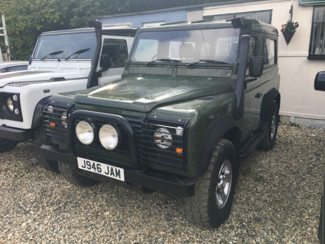1991 Land Rover Defender Hard top civilian Defender 90 200tdi diesel