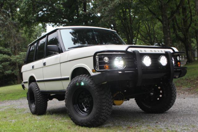 1991 Land Rover Range Rover Classic: rust-free CA car