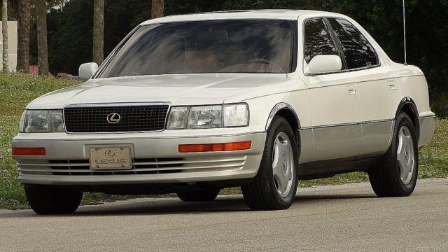 1991 lexus ls400 luxury sedan in excellent just 62 000 miles selling no reserve for sale photos. Black Bedroom Furniture Sets. Home Design Ideas