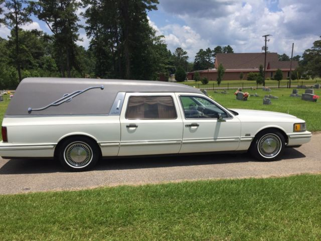 1991 Lincoln Town Car Hearse For Sale Photos Technical