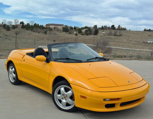 1991 Lotus Elan M100 Only 16k Miles Best Elan In The