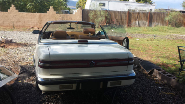 1991 Chrysler Other CONVERTIBLE  COUPE