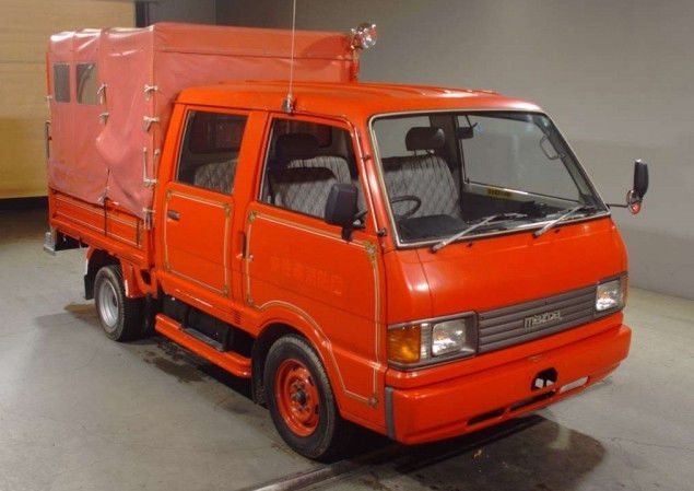 1991 Mazda Bongo Double Cab Fire Support Truck