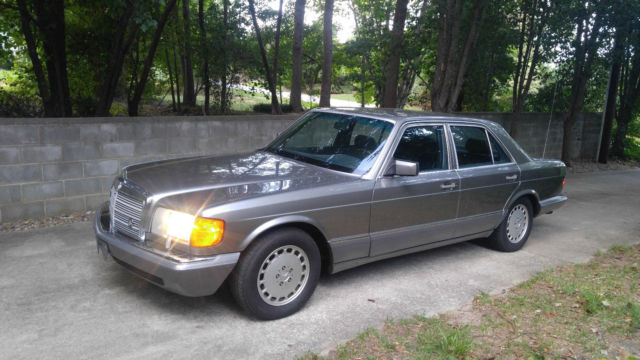 1991 Mercedes-Benz S-Class 350SD Turbo Diesel